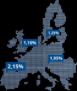 Festgeld europaweit bei WeltSparen anlegen