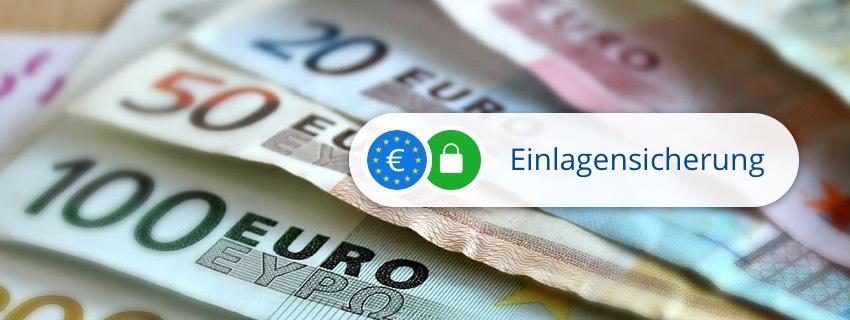Alle Festgeld-Anlagen mit Einlagensicherung