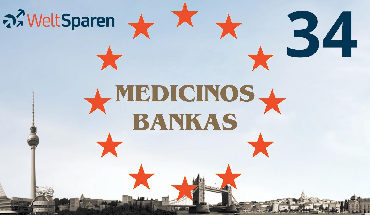 Medicinos Bankas ist Partnerbank Nummer 34