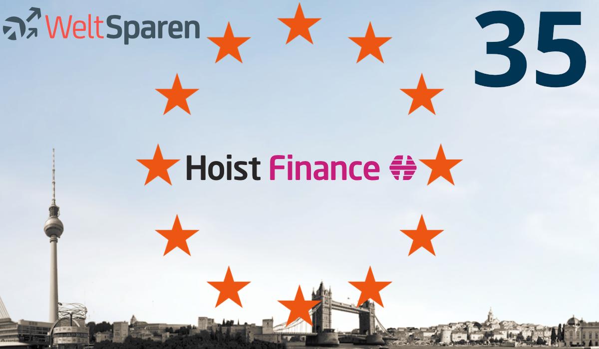 WeltSparen ab sofort ab 1.000 Euro möglich – mit Hoist Finance aus Schweden