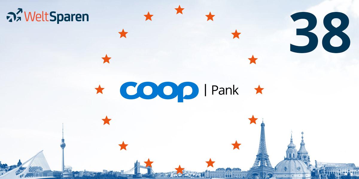 Coop Pank ist Partnerbank Nummer 38 und das zweite estnische Finanzinstitut bei WeltSparen