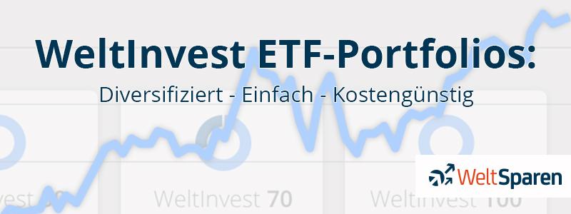 WeltInvest: Diversifiziert - Einfach - Kostengünstig.