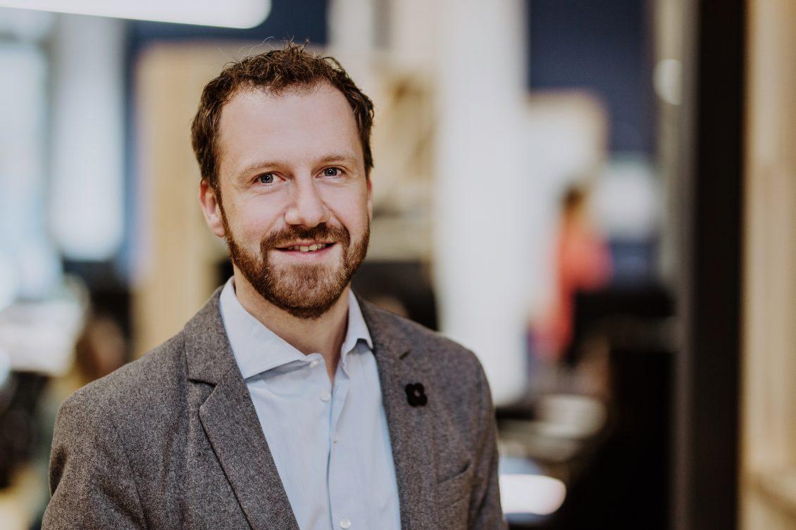 Frank Freund, CFO und Co-Founder Raisin