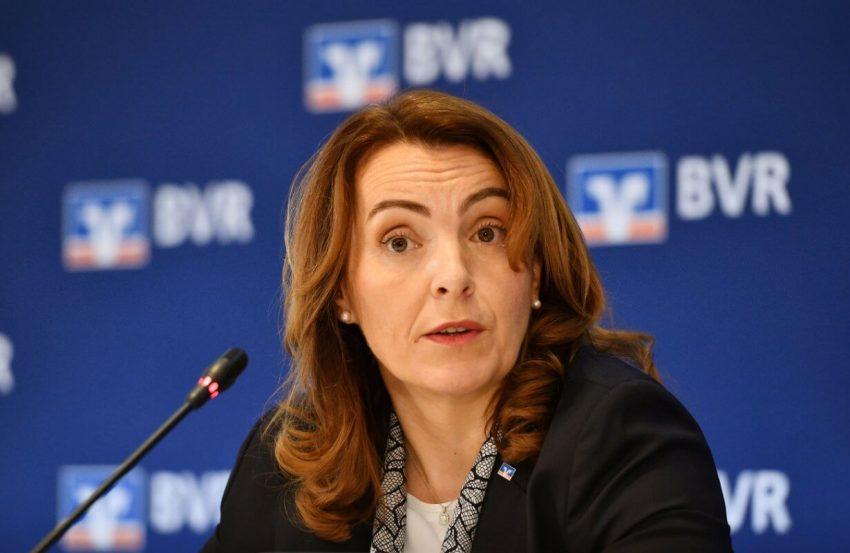 Die Zinsen sollen langfristig niedrig bleiben, so BVR-Präsidentin Marija Kolak.