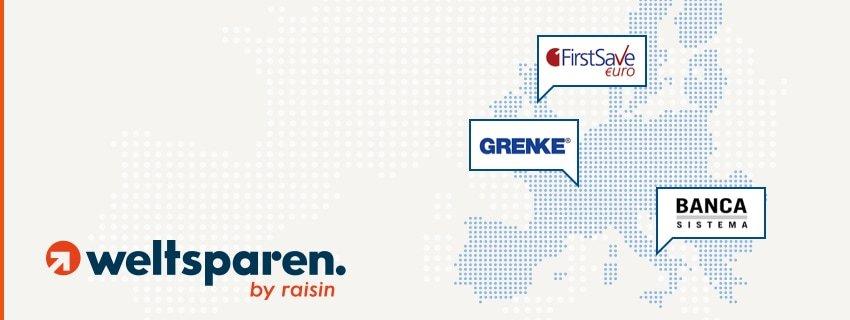 Festgeldkonto bei europäischen Banken über WeltSparen