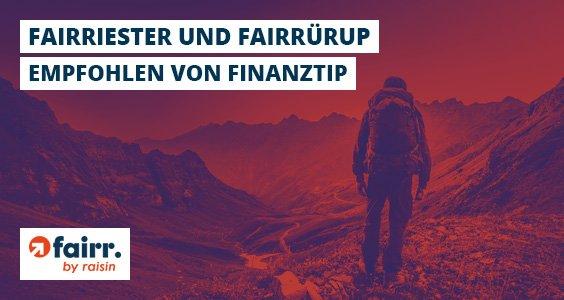 fairriester und fairrürup bis zum 18. Dezember Steuervorteil sichern.