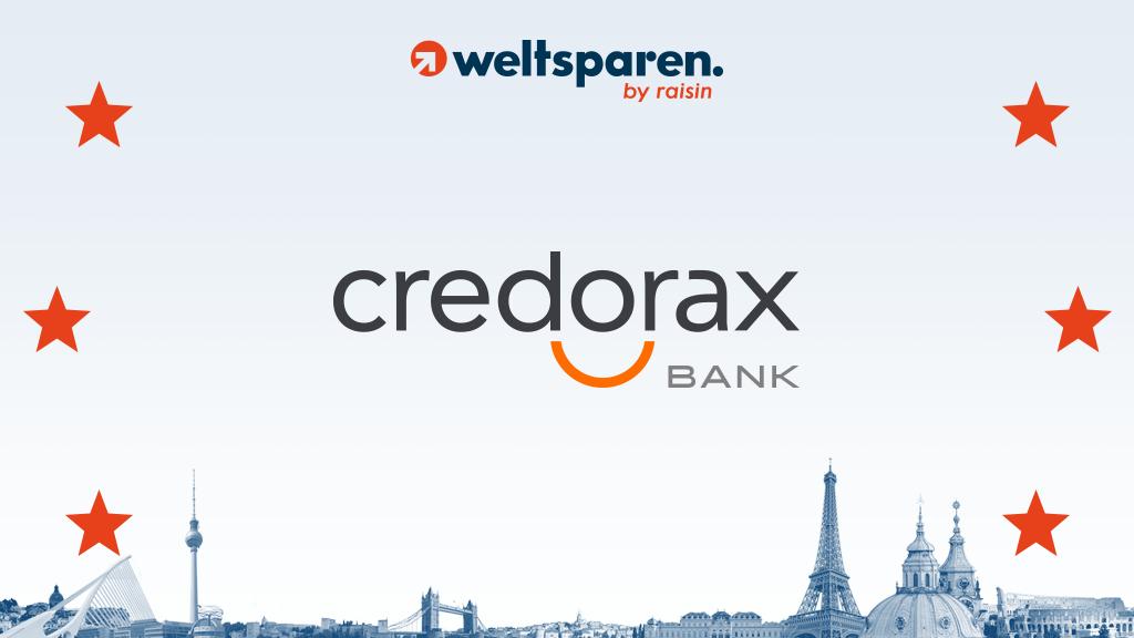 """Raisin kooperiert mit der als """"Market Shaker"""" ausgezeichneten Credorax Bank"""