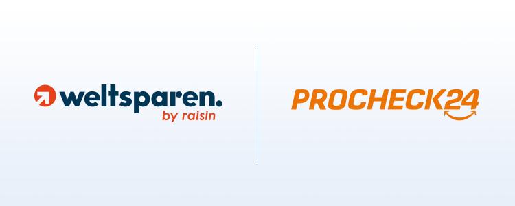 PROCHECK24 und Raisin mit neuartiger Lösung für Finanzinstitute: