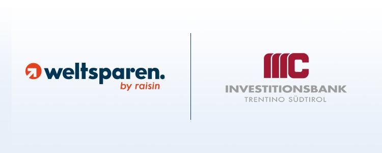 Fintech Raisin: Investitionsbank Trentino Südtirol AG expandiert mit Einlagengeschäft über WeltSparen nach Deutschland und Österreich
